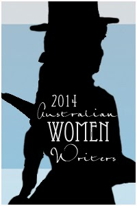 Australian Women Writers Challenge 2014 badge